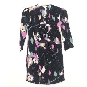 UO Silence + Noise black floral dress Size XS